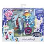 Elements of Friendship Rainbow Dash Loyalty set