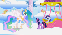Princess Celestia asks if Twilight has learned about friendship S1E16