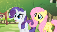 "Rarity ""how did you do that?"" S01E17"