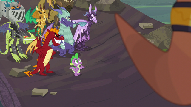 "File:Spike ""I am a dragon, after all"" S6E5.png"