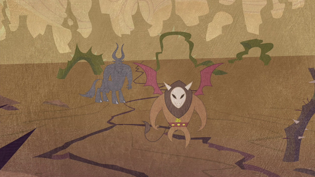 File:Tirek and Scorpan arrive in Equestria S4E25.png
