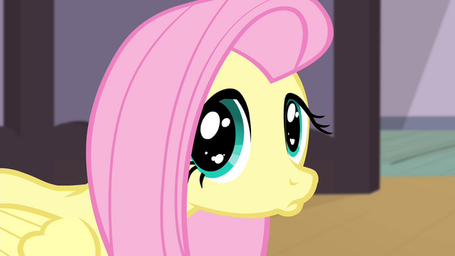 File:Fluttershy giving a sad pout S4E14.png
