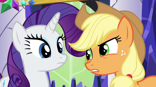 "File:Applejack ""come on, Rarity"" S5E3.png"