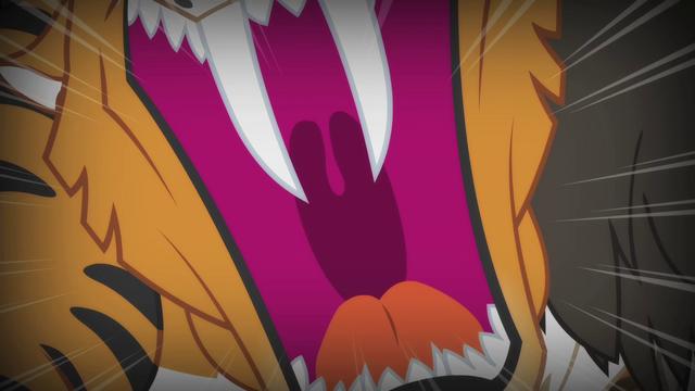 File:Chimera's tiger head roaring S4E17.png
