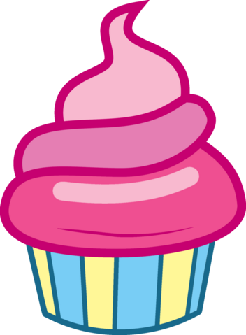 File:FANMADE Pink Iced Cupcake.png