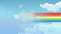 Rainbow Dash speeds off after her cutie mark S6E24