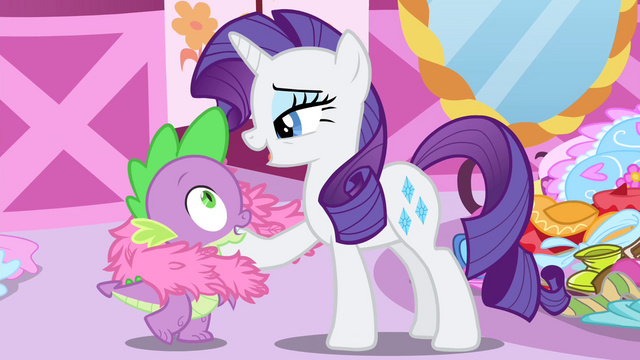 "File:Rarity ""You are my favorite dragon"" S4E23.png"