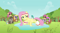 Fluttershy crying S2E22