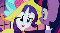 Rarity replying to Twilight S2E9 2