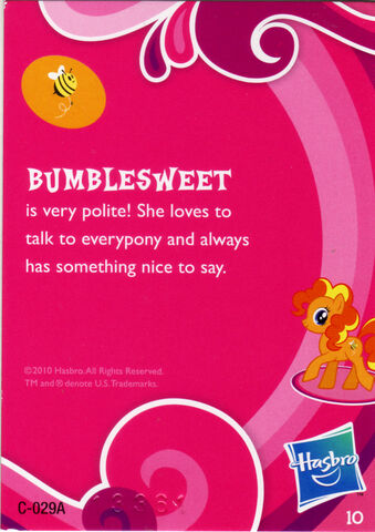 File:Wave 1 Bumblesweet collector card back.jpg