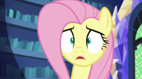 Fluttershy reminded of the corn maze S5E21