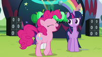"Pinkie '""the biggest pony pop star in all of Equestria"" S5E24"