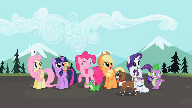 File:Ponies watching fly-by S2E7.png
