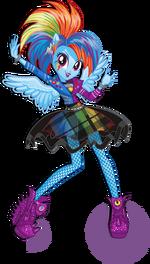 Rainbow Dash Rainbow Rocks character bio art 2