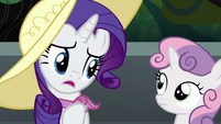 "Rarity ""she's had such a rough start"" S6E7"