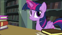 Twilight rolling her eyes S4E25