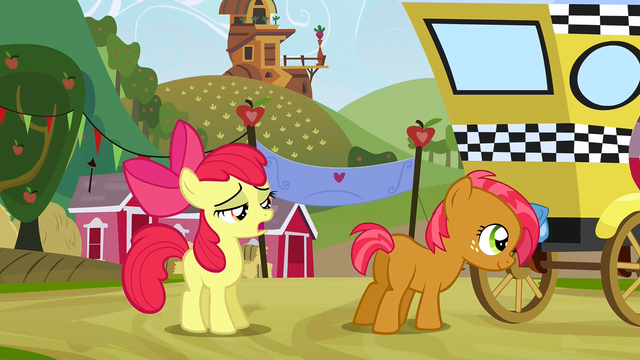 "File:Apple Bloom ""I mean obviously"" S3E8.png"