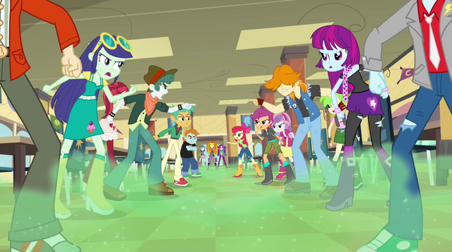 File:Canterlot High cafeteria clouded in green mist (new version) EG2.png