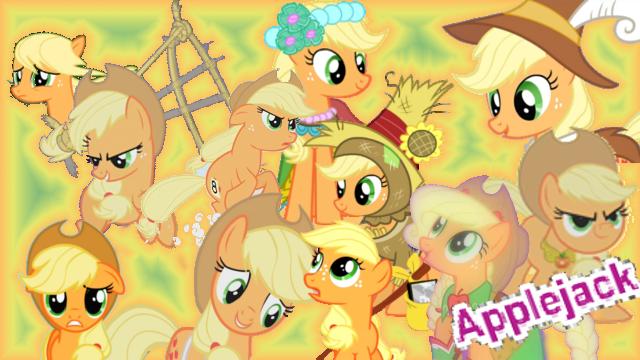 File:FANMADE Applejack Collage Mewkat14.png