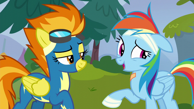 "File:Rainbow Dash ""so much worse than Crash"" S6E7.png"