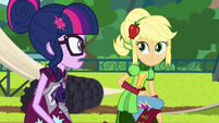 Applejack vs. Twilight EG3