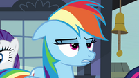 "Rainbow Dash annoyed ""almost"" S03E12"