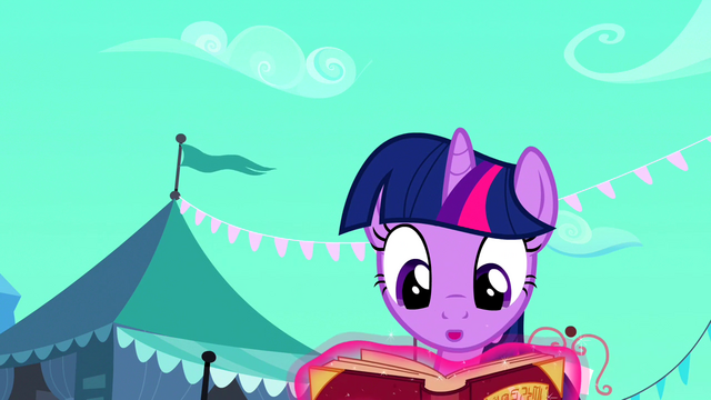 File:Twilight Book Glows Not Horn S03E01.png