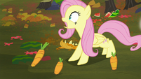 Fluttershy calling out to Twilight S5E23