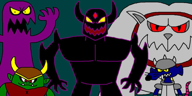 File:FANMADE Dark Shadow and The Henchmen by ian2x4.jpg