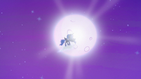 Princess Luna vanishing into the moon S6E25