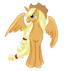 File:FANMADE Alicorn Applejack.jpg
