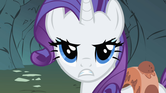 File:Rarity asking the Diamond Dogs in they want to hear whining S1E19.png