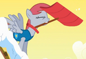 Derpy with red mane S1E11
