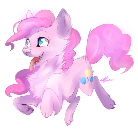 File:FANMADE wolf pinkie pie by affanita-d5n21jr.png