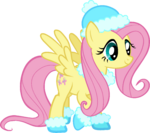 Fluttershy Hearth's Warming Eve Card Creator