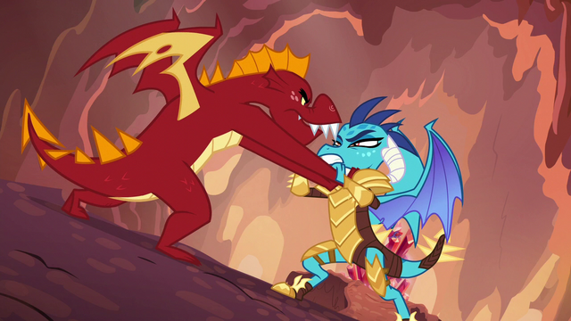 "File:Garble ""dragons don't do helping!"" S6E5.png"