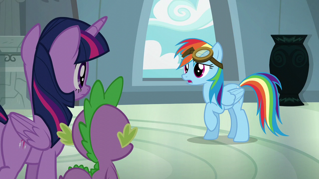 "File:Rainbow Dash ""you're right!"" S6E7.png"
