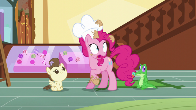 "File:Pinkie ""I have to keep the exciting news"" S5E19.png"