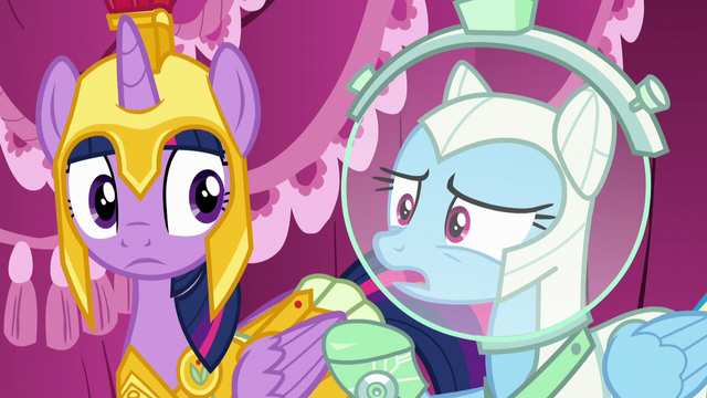 """File:Rainbow Dash """"where's your costume?"""" S5E21.png"""