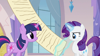 Rarity checking instructions S3E12