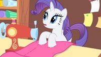 Rarity hears doorbell S1E20
