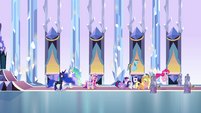 Celestia sends the girls to bed EG