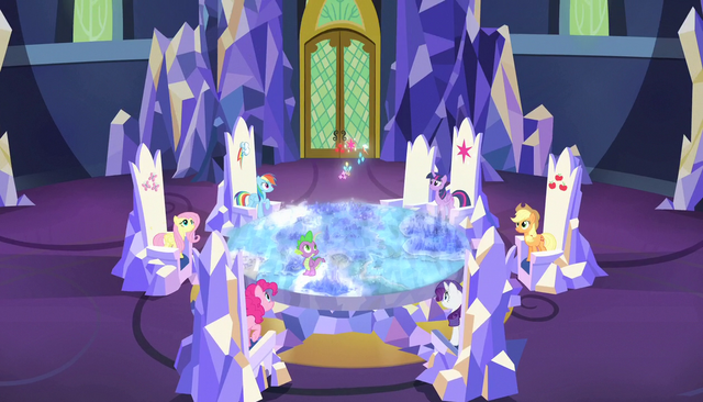File:Cutie marks coming down from above S5E1.png