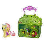 Explore Equestria Fluttershy Cottage playset