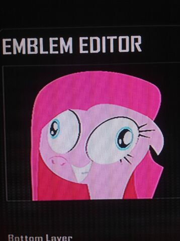 File:FANMADE Pinkamena Black Ops 2 Emblem.jpg