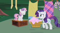 "Rarity ""You know how hard"" S2E05"
