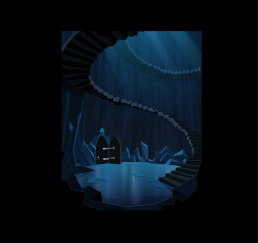 File:The Crystal empire stairs backround.png