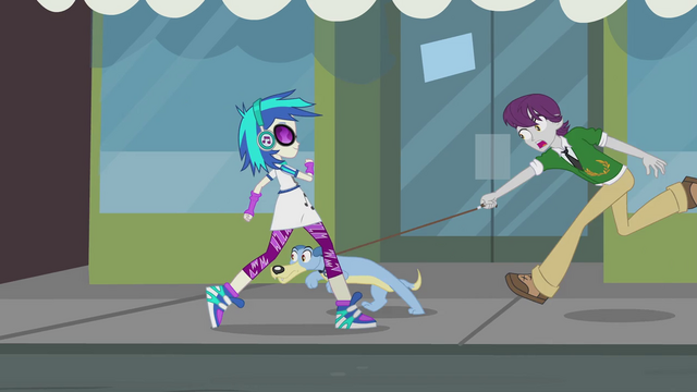 File:Unnamed boy and dog passing DJ Pon-3 EG2.png