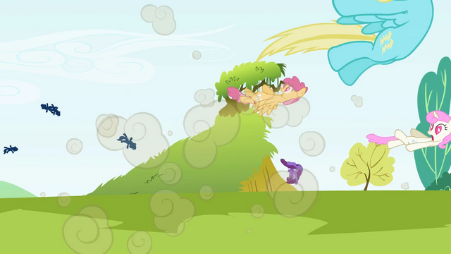 File:Big McIntosh ponies explosion S2E3.png