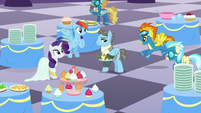 Spitfire and Misty Fly chimes in S5E15